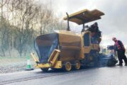 Knowsley Surfacing diversifies with a small Cat Paver from Finning
