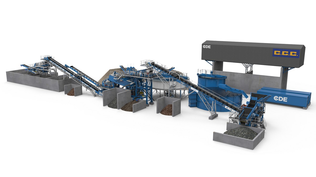 CCC Waste Recycling partners with CDE to deliver UK's largest waste recycling plant