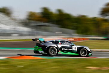 Doosan sponsors Emilian Dinamic Motorsport team in Porsche Mobil 1 Supercup