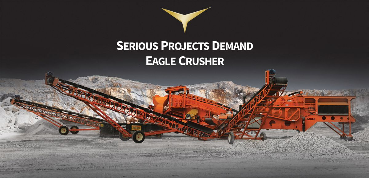 Eagle Crusher launches a range of new products and a new website