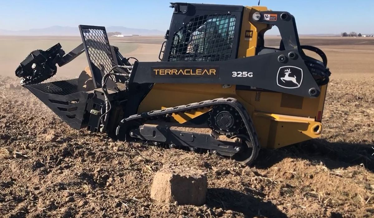 TerraClear raises $25m for AI Robotic Rock Picker