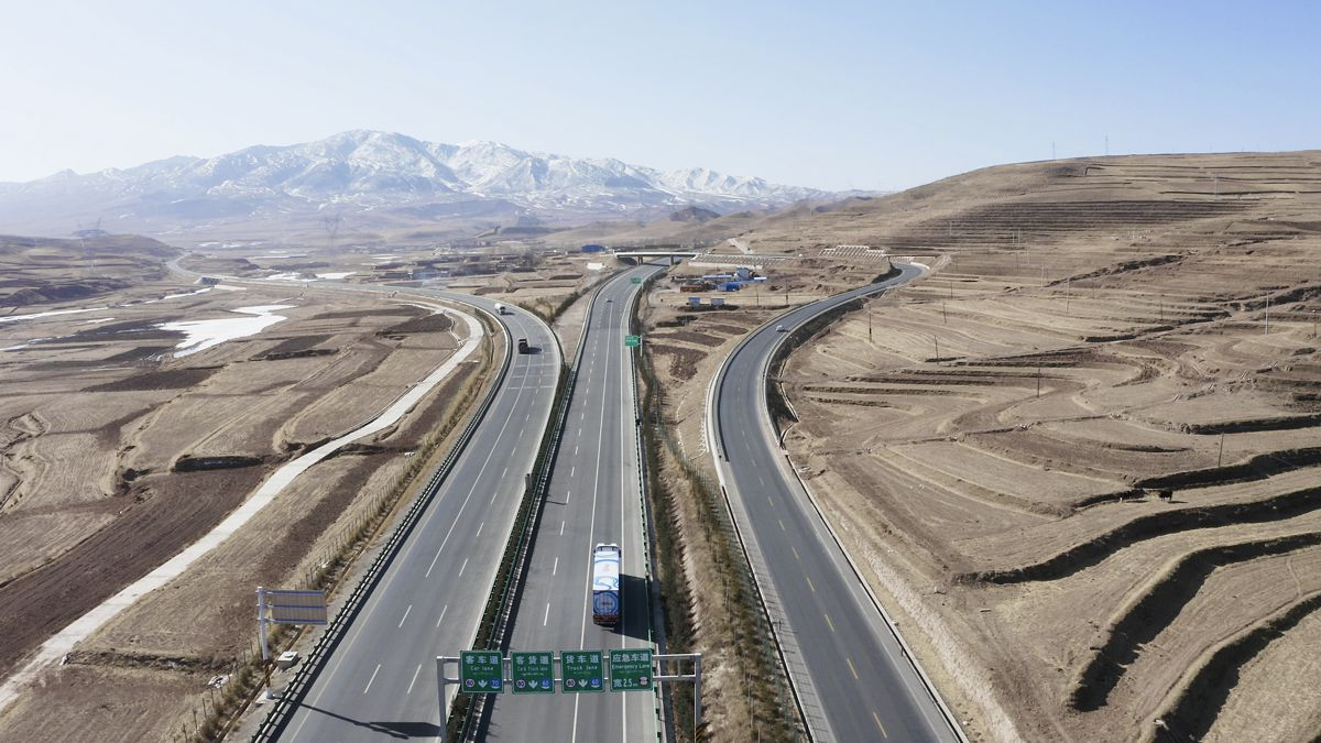 Plus self-driving truck completes 4,000 mile Silk Road Journey