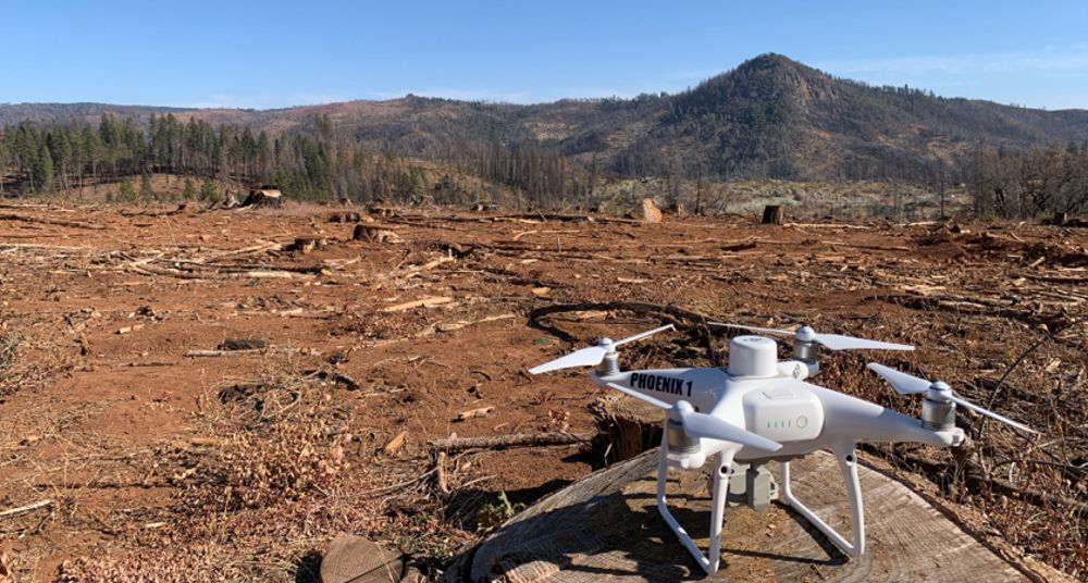 DJI helps Paradise rebuild in California