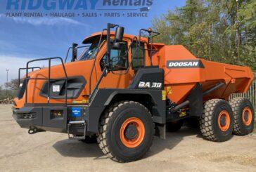 Ridgway Rentals now offer a splash of Doosan orange