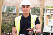 Kaiden Ashun wins Screwfix Trade Apprentice 2021 competition