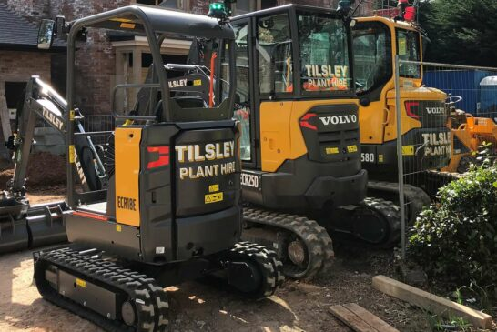 Two more compact Volvo excavators head for Tilsley Plant Hire