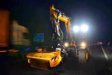 JCB PotholePro proves itself on M6 fast lane night shift