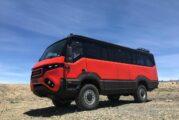 TORSUS PRAETORIAN rugged off-road 4x4 bus gets technical upgrades