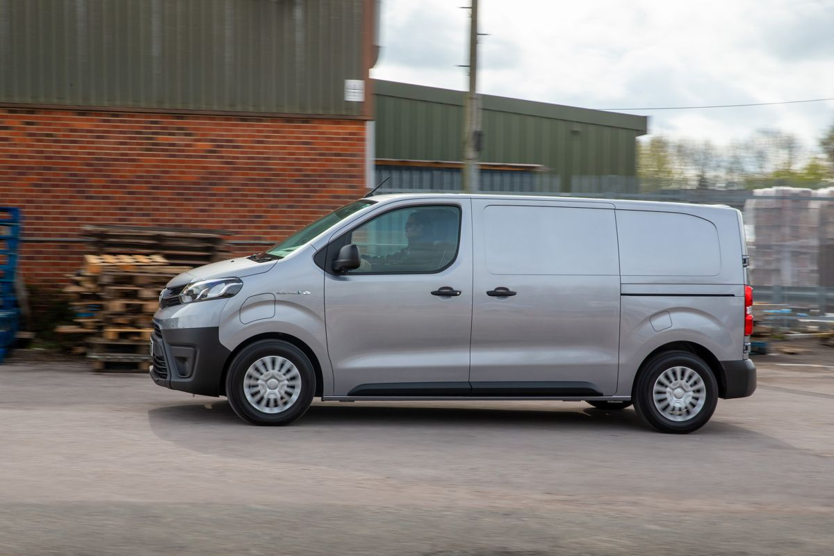Meet the all new Toyota Proace Electric Van