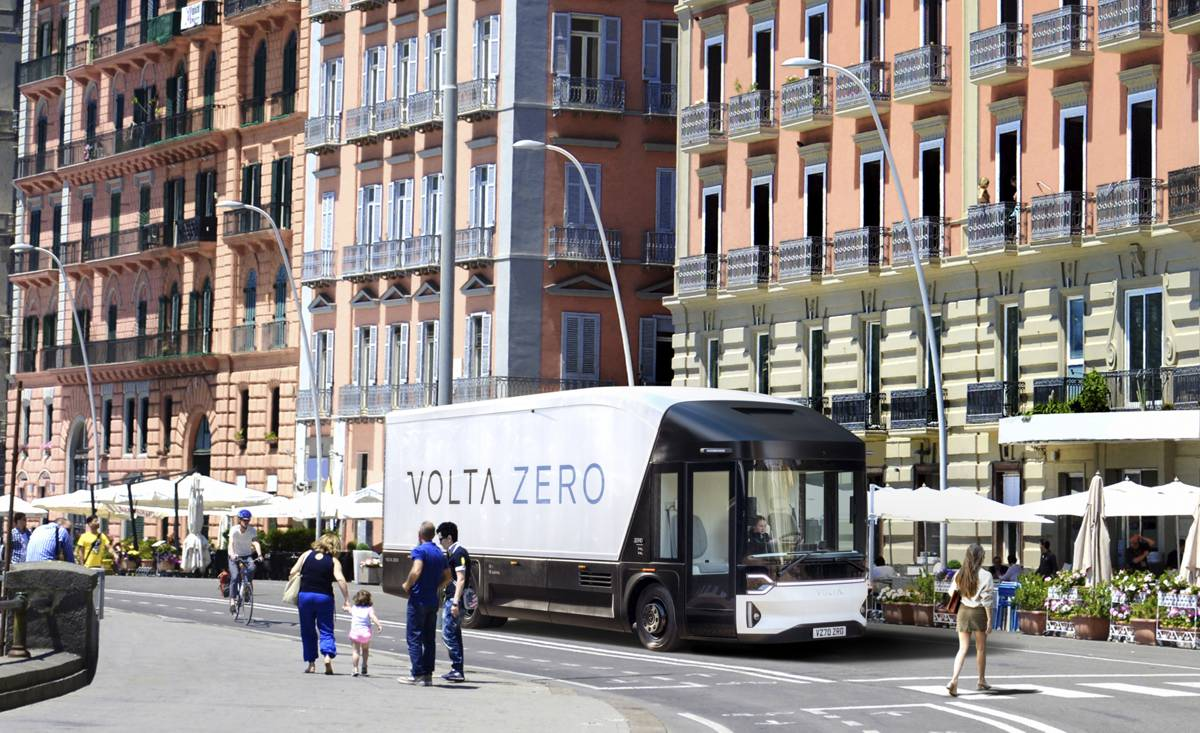 Volta Zero introducing electric trucks to Italy