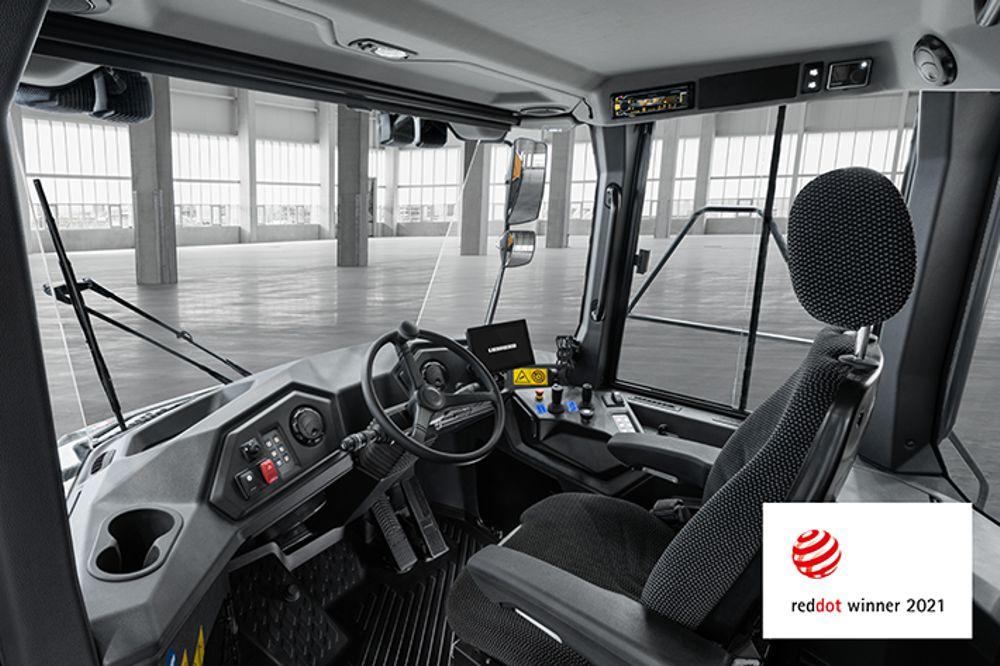 Liebherr's new Articulated Dump Truck wins 2021 Red Dot Design Award