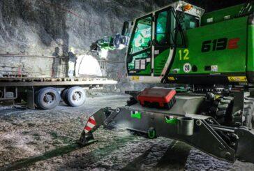Europe's largest Salt Mine gets safer with SENNEBOGEN 613 E16 T Telescopic Crane
