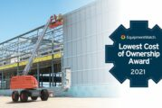 Skyjack Telescopic Booms win Lowest Cost of Ownership prize