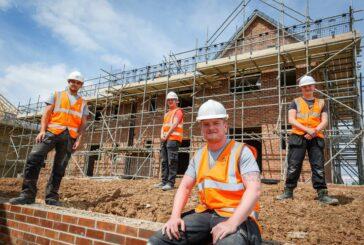 Local apprentices set to work at £15m Loftus Housing Development