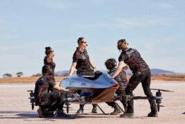 Airspeeder makes first full-scale electric flying racing car test flights