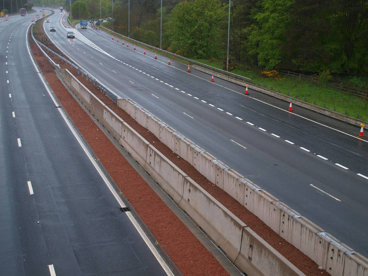 Hardstaff Barriers now protecting Scottish drivers after M8 bridge upgrades
