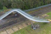 Network Rail unveils innovative railway footbridge design