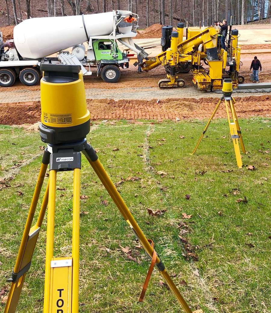 Curb and gutter paving performance enhanced with robotic solutions from Topcon
