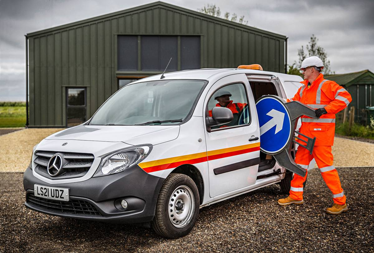 Electrical Testing switches entire van fleet to Mercedes-Benz