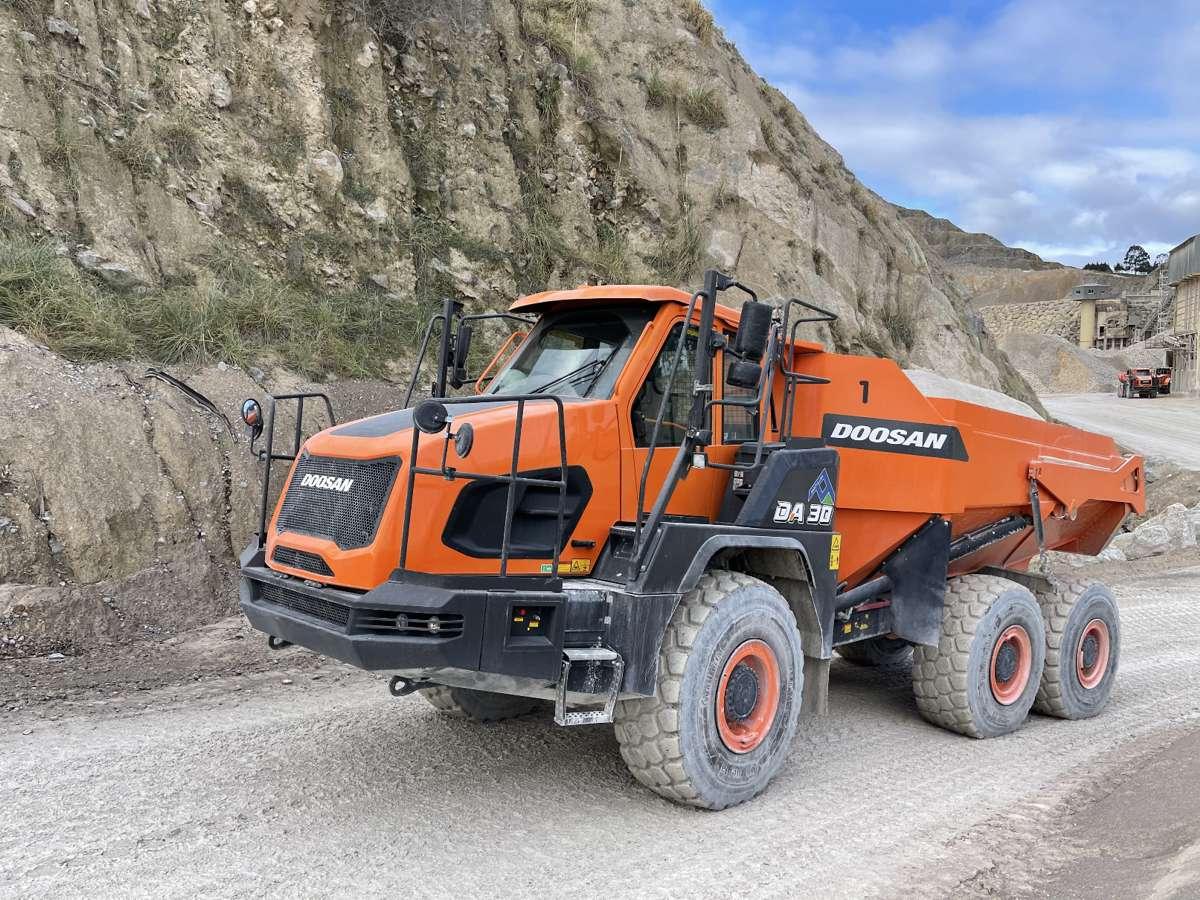 Canteras de Santullán upgrades with Doosan at Bilbo Quarry in Spain