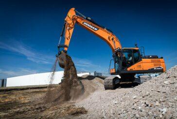 Doosan unearths new medium-sized DX225LC-7 Crawler Excavator