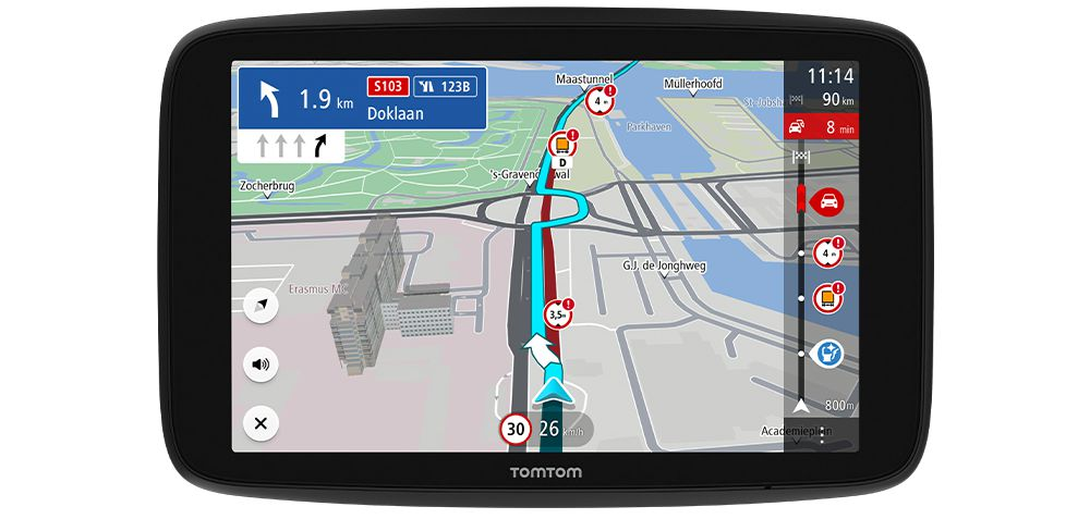 TomTom launches the ultimate 7-Inch HD satnav for professional drivers