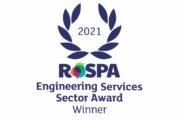 Finning celebrates winning internationally recognised RoSPA safety award