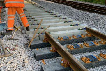 Network Rail trials Recycled Plastic Railway Sleepers