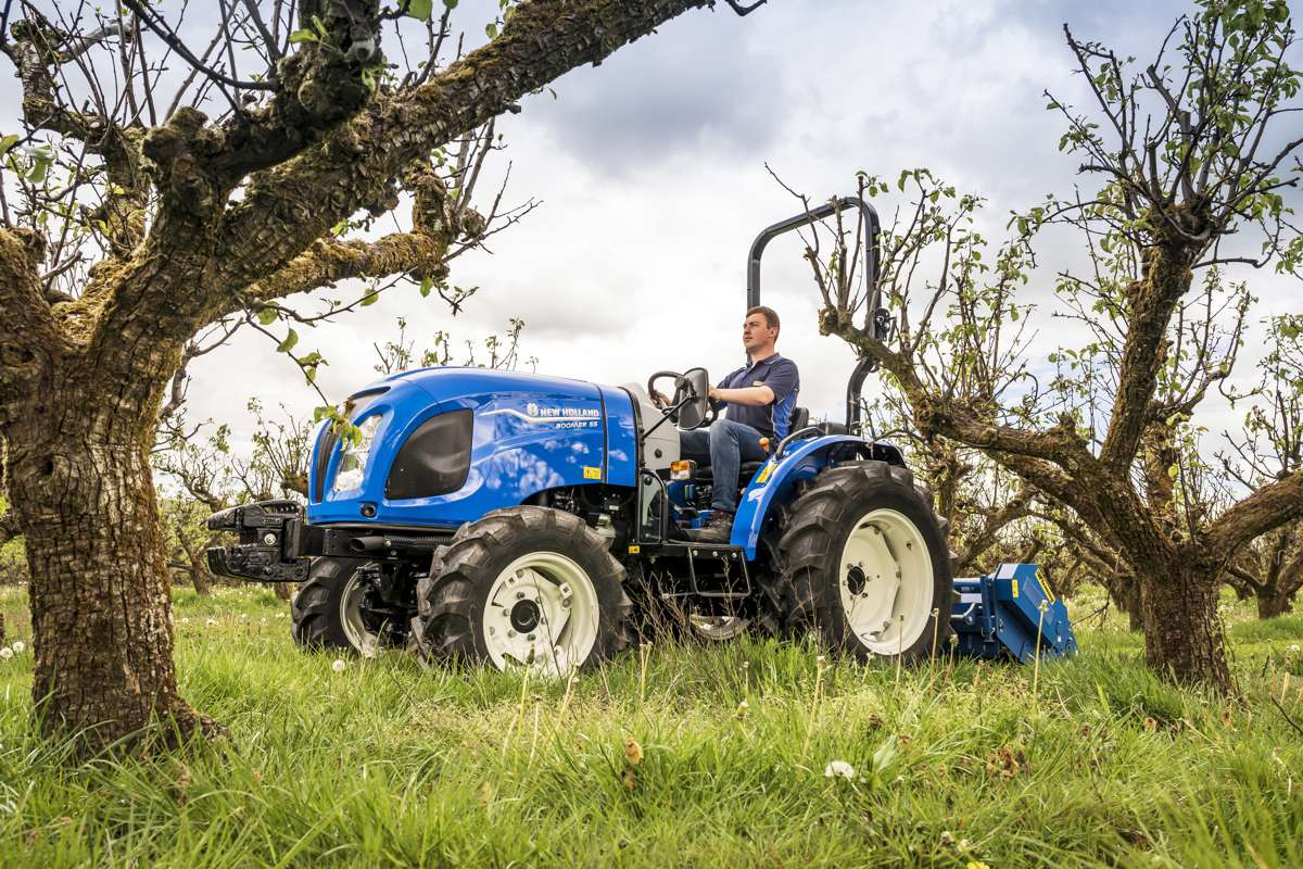 New Holland adds Stage V-compliant engines to the compact Boomer tractor range