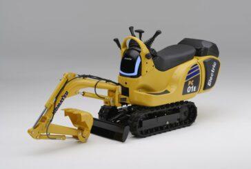 Honda and Komatsu announce development of Micro Electric Excavators