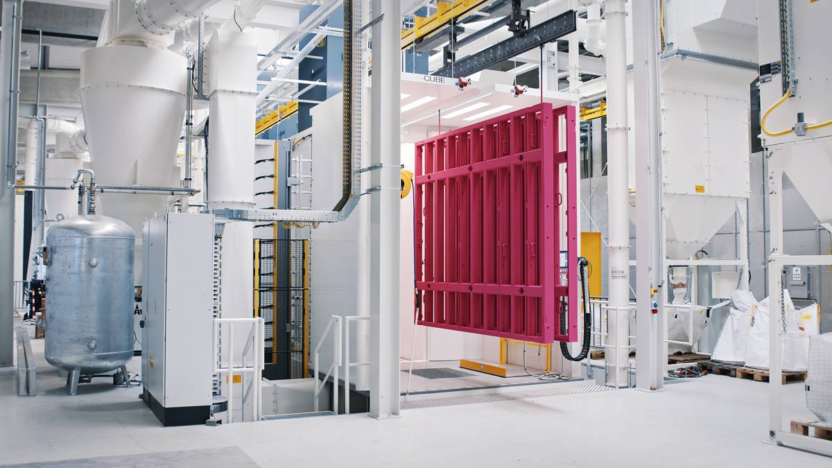 Doka invests in the future with new powder coating plant