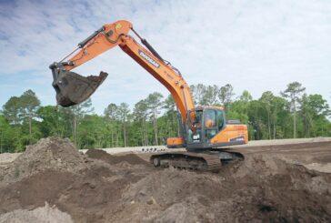 Doosan Excavators in the US now feature Trimble factory-installed Machine Controls