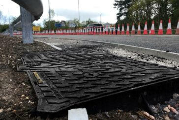 Unite manhole covers prove their metal on M27 project