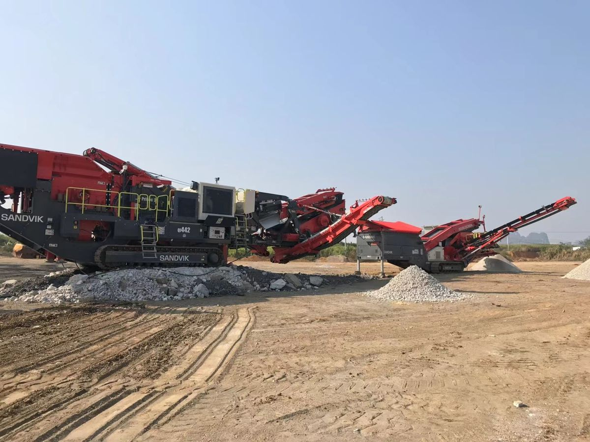 China experiences quality mobile crushing and screening with Sandvik solutions