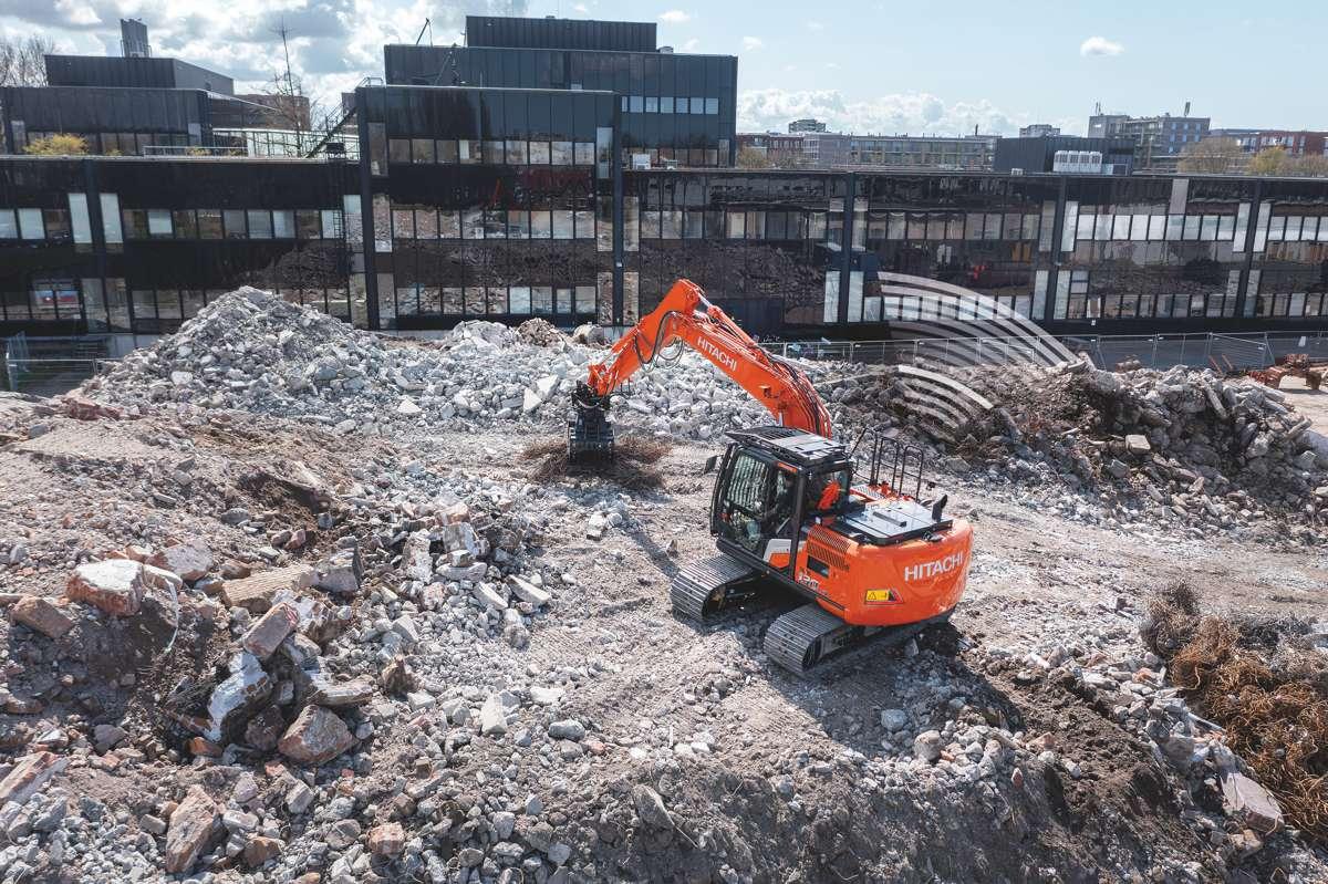 Hitachi puts operators in control of its latest range of Zaxis-7 medium excavators