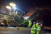 New environmentally friendly resurfacing material trialled on M3 Motorway