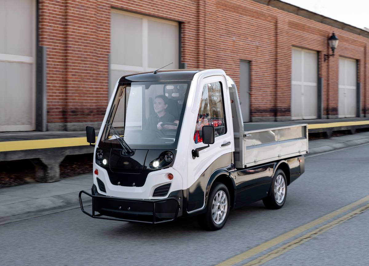 Club Car launches a compact all-electric light-duty truck