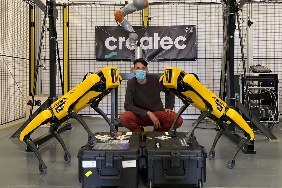 Createc to provide sensor integrations for Boston Dynamics Spot robot