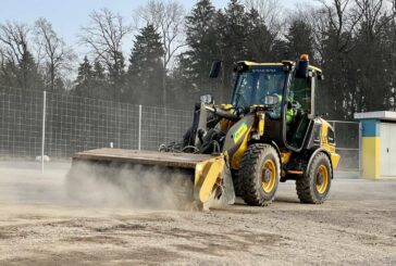 Zurich commits to staying green with VolvoCE Electric Construction Equipment