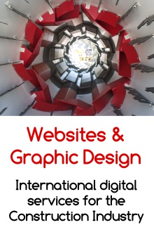 Websites and Graphic Design. International Digital Services for the Construction Industry