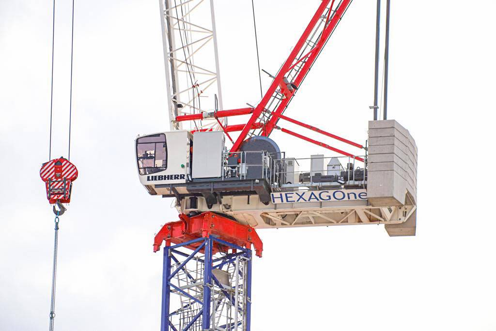 Hexagone takes over Liebherr tower crane rental business in Paris and Northern France