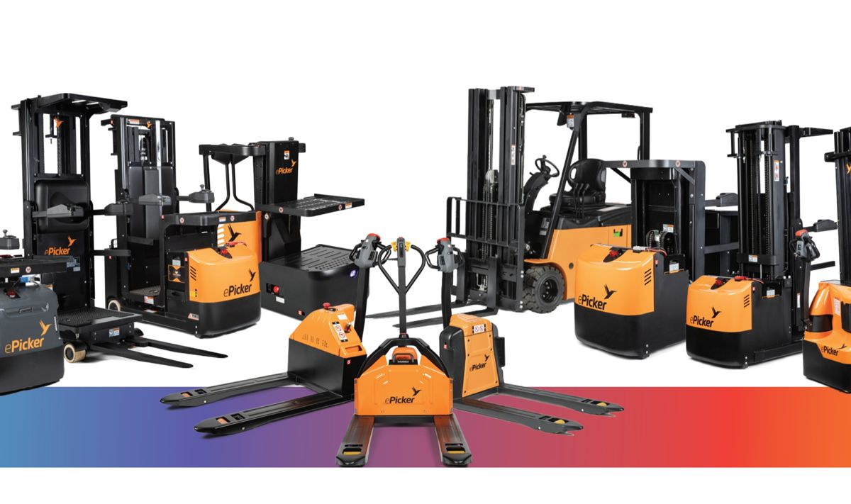 ePicker launches innovative fleet of access vehicles and Lithium-Ion powered forklifts