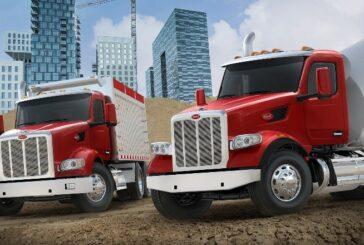 Peterbilt showcasing their Concrete Truck line-up at World of Concrete 2021