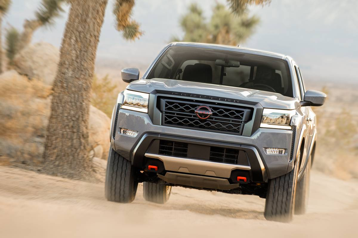 Nissan reimagines the all-new 2022 Frontier
