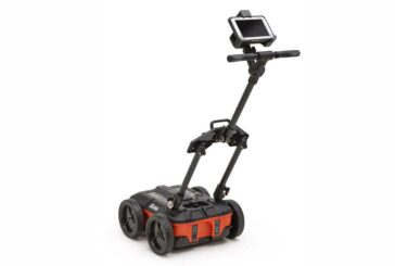 GSSI showcasing the UtilityScan Compact GPR System at Utility Expo 2021