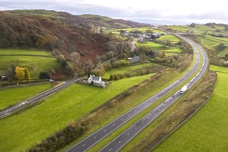 Highways England has announceditsambitiousnewcarbon plan that will see it rapidly cut carbon fromroad construction and support the transition to zero vehicle emissions