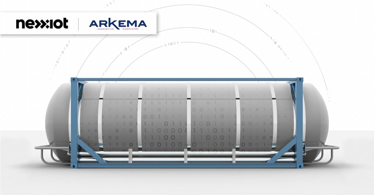 Nexxiot and Arkema team-up to revolutionize Chemical Transportation