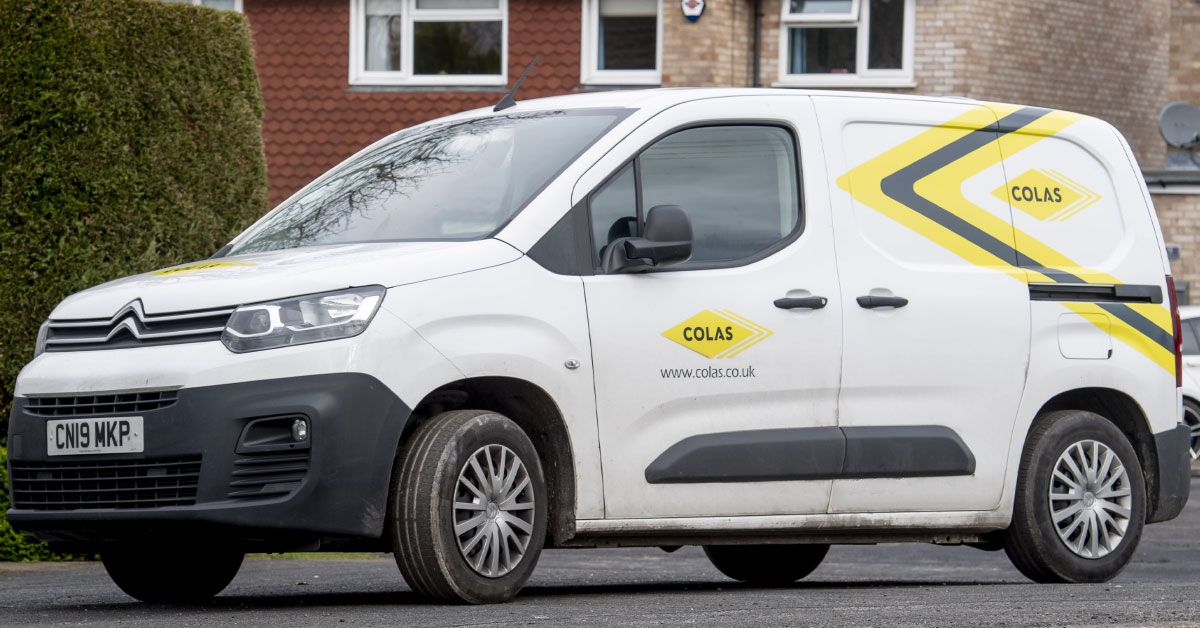 Colas drives fleet safety innovation with Samsara dashcams