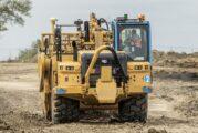 Collins Earthworks chooses versatility with new Cat 637K Coal Bowl Scrapers