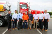 Pilot Company gifts custom Peterbilt Truck to driver for 40 years of valuable service